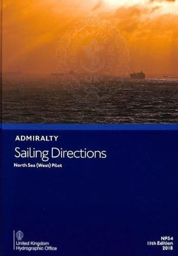 NP54 - Admiralty Sailing Directions: North Sea (West) Pilot ( 11th Edition )